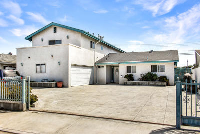 Oxnard Single Family Home Active Under Contract: 3030 Merced Place