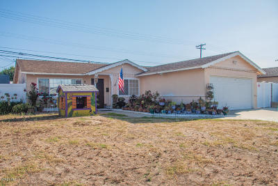 Port Hueneme Single Family Home For Sale: 656 Pearson Road