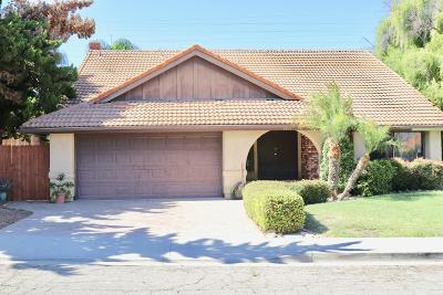 Santa Paula Single Family Home For Sale: 1011 Beech Drive