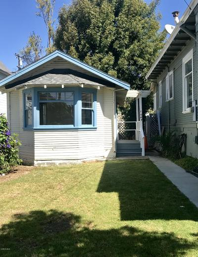 Ventura County Rental For Rent: 1047 E Santa Clara Street