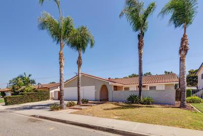 Camarillo Single Family Home Active Under Contract: 966 Gracia Street