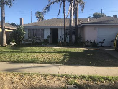 Oxnard Single Family Home For Sale: 2004 San Benito Street