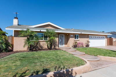 Oxnard Single Family Home For Sale: 1541 Patricia Street
