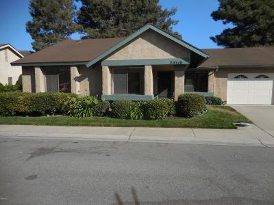 Camarillo Single Family Home Active Under Contract: 20310 Village 20