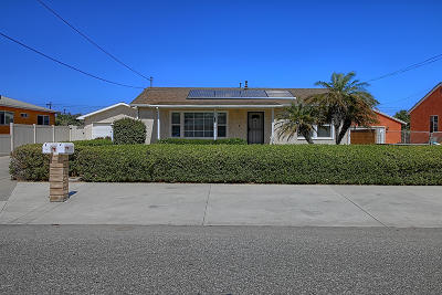 Oxnard Single Family Home For Sale: 793 Corsicana Drive