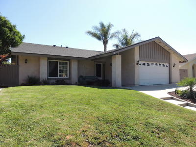 Santa Paula Single Family Home Active Under Contract: 1141 Fuchsia Lane