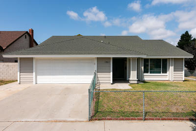 Oxnard Single Family Home Active Under Contract: 1961 Jeffreys Place