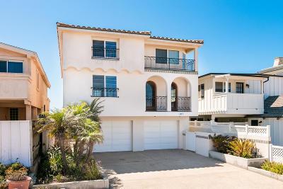 Oxnard Single Family Home For Sale: 817 Ocean Drive