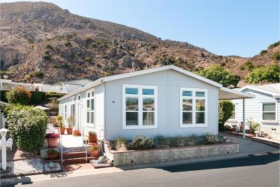 Camarillo Mobile Home For Sale: 28 Gitana Avenue #166
