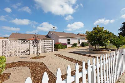 Oxnard Single Family Home For Sale: 1425 Hill Street