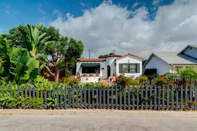 Ventura Single Family Home Active Under Contract: 3737 Paloma Drive