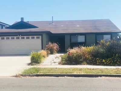 Oxnard Single Family Home For Sale: 804 E Dollie Street