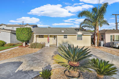 Oxnard Single Family Home For Sale: 428 H Street