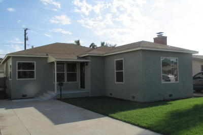 Oxnard Single Family Home For Sale: 536 Palm Drive