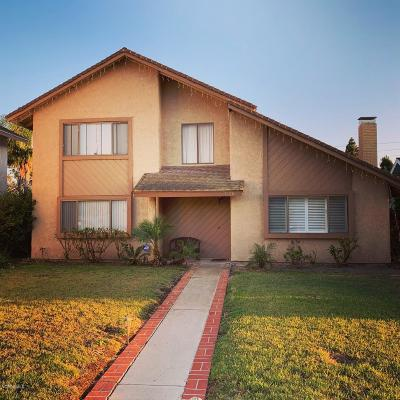 Oxnard Single Family Home Active Under Contract: 3120 Isle Way