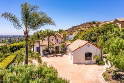 Camarillo Single Family Home For Sale: 6950 Calle Dia