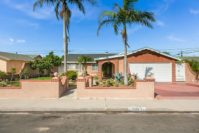 Oxnard Single Family Home For Sale: 3323 Kern Street
