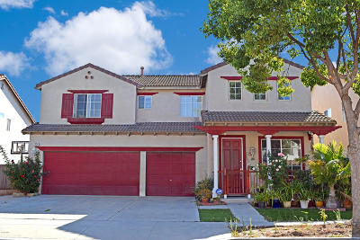 Oxnard Single Family Home For Sale: 1036 Paseo Ortega