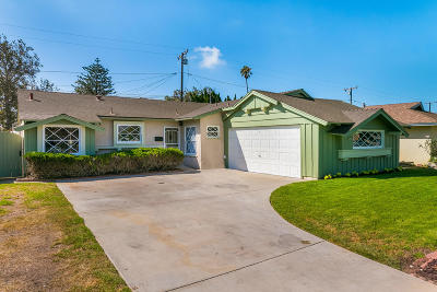 Oxnard Single Family Home For Sale: 600 E Fir Avenue