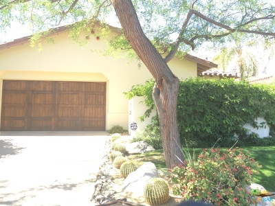 Cathedral City, Indio, Palm Springs Rental For Rent: 343 Big Canyon Drive