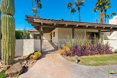 Rancho Mirage Single Family Home For Sale: 70070 Frank Sinatra Drive #10