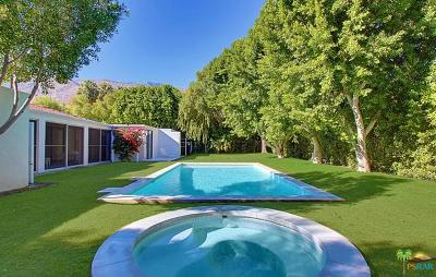 Palm Springs Single Family Home For Sale: 488 E Via Altamira