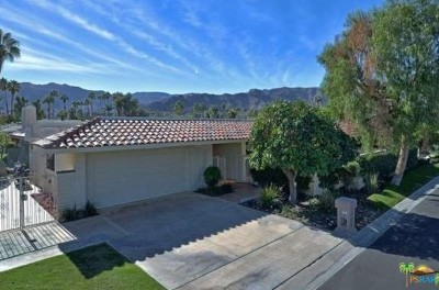 Rancho Mirage Single Family Home Contingent: 7 Radcliff Court