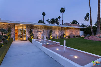 Palm Springs Single Family Home For Sale: 310 South Patencio Road