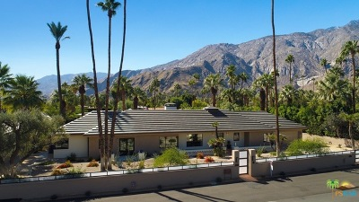 Palm Springs Single Family Home For Sale: 201 Vereda Norte