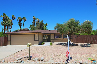 Palm Springs Single Family Home Contingent: 2386 Acacia Road