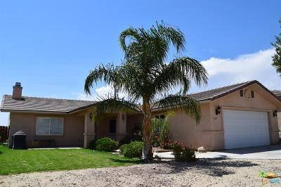 Desert Hot Springs CA Single Family Home Contingent: $199,000