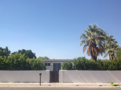 Palm Springs Single Family Home For Sale: 744 West Rosa Parks Road
