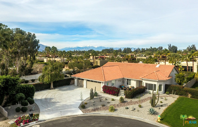 Rancho Mirage Single Family Home Contingent: 70705 Ironwood Drive