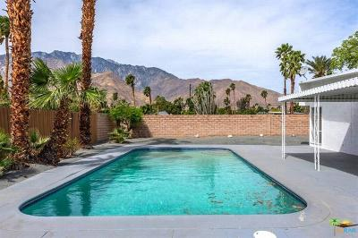 Palm Springs Single Family Home Contingent: 605 East Alexander Way