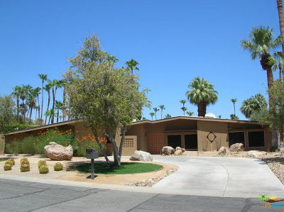 Palm Springs Single Family Home Contingent: 1106 North Paseo Dero