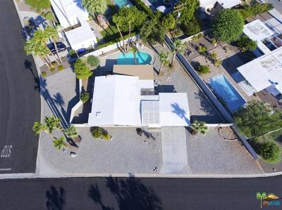 Palm Springs Single Family Home Contingent: 2411 North Starr Road