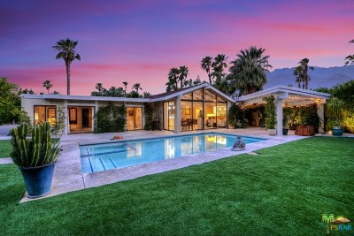 Palm Springs Single Family Home For Sale: 1160 East Louise Drive
