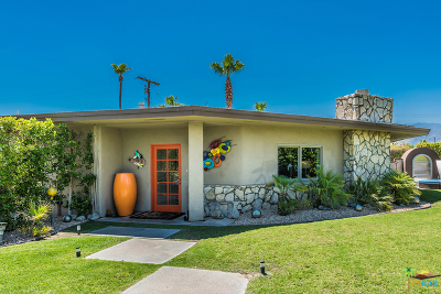 Palm Springs Single Family Home For Sale: 1025 East Olive Way