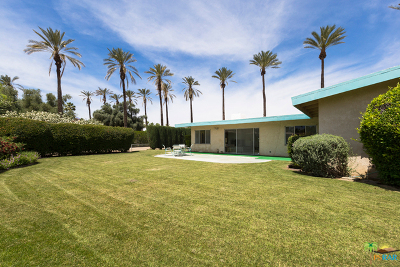 Rancho Mirage Single Family Home For Sale: 72200 Vallat Road