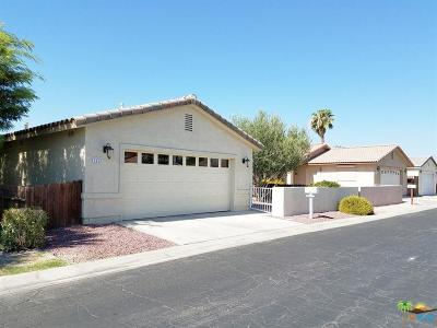 Indio Single Family Home For Sale: 81641 Avenue 48 #21