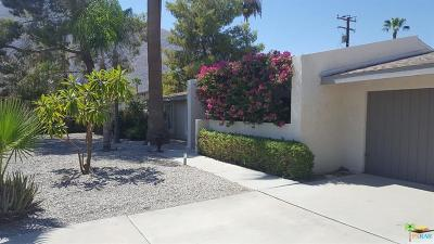 Palm Springs Single Family Home For Sale: 650 East Mesquite Avenue