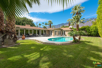 Palm Springs Single Family Home For Sale: 1650 East Mesquite Avenue