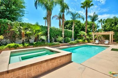 Indian Wells Single Family Home Contingent: 74935 Verbena Court