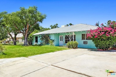 Palm Springs Single Family Home Contingent: 3784 East Calle San Raphael