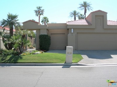 Desert Horizons C.C. Single Family Home For Sale: 44900 Lakeside Drive