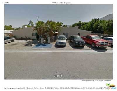 Palm Springs Multi Family Home Contingent: 443 East Chuckwalla Road