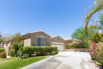 Palm Springs Single Family Home For Sale: 3561 Silent Dunes Way