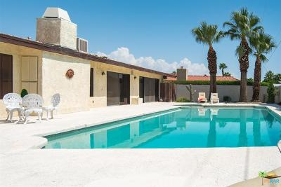 Palm Springs Single Family Home Contingent: 2887 East Vincentia Road