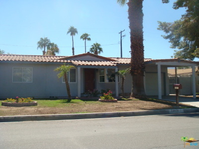 Palm Desert Single Family Home Contingent: 73071 Guadalupe Avenue
