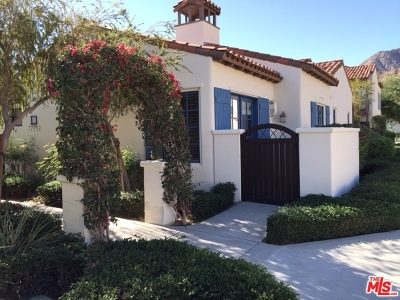 La Quinta Condo/Townhouse For Sale: 77753 Heritage Drive